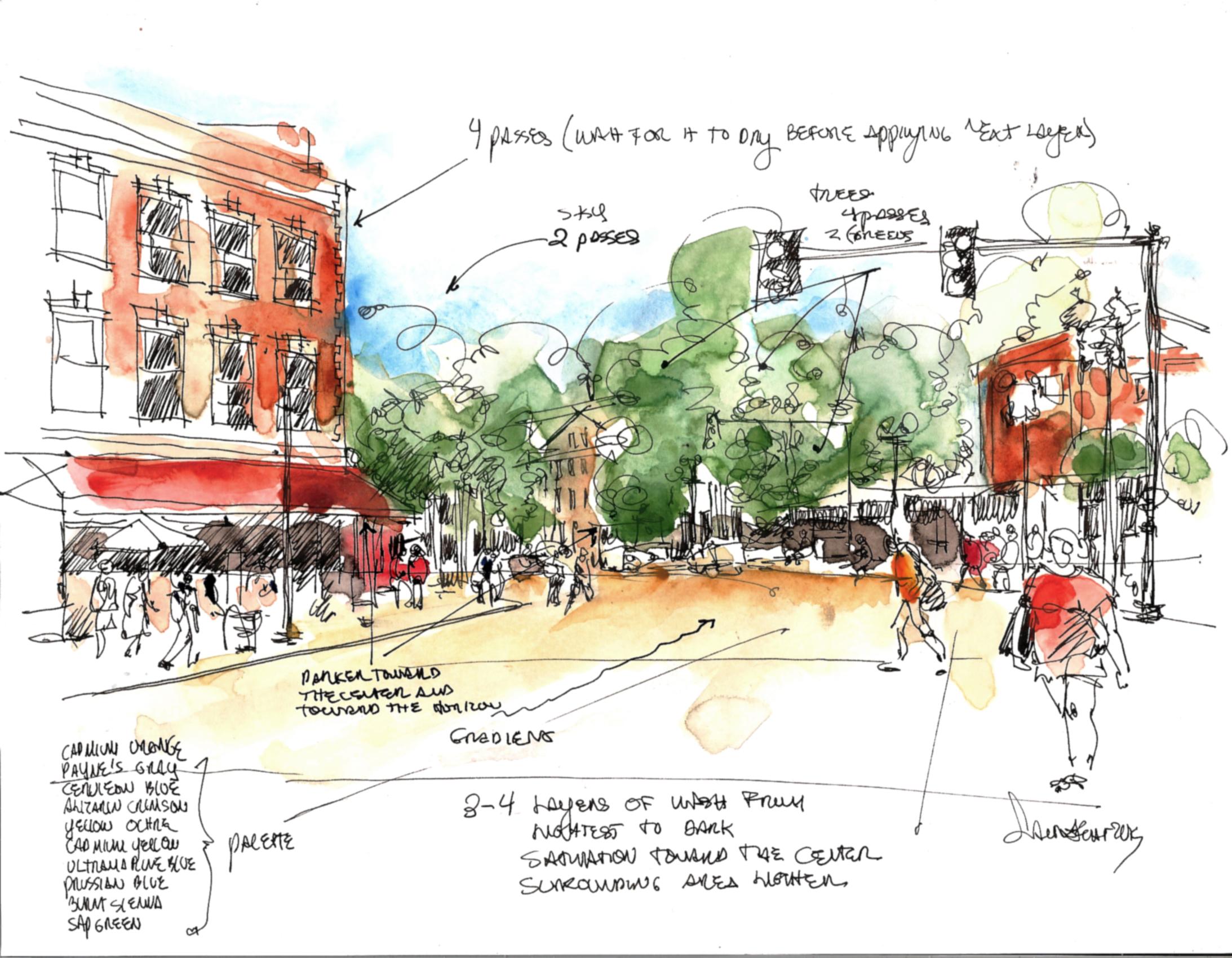 <b>Urban Sketching Tutorial</b>