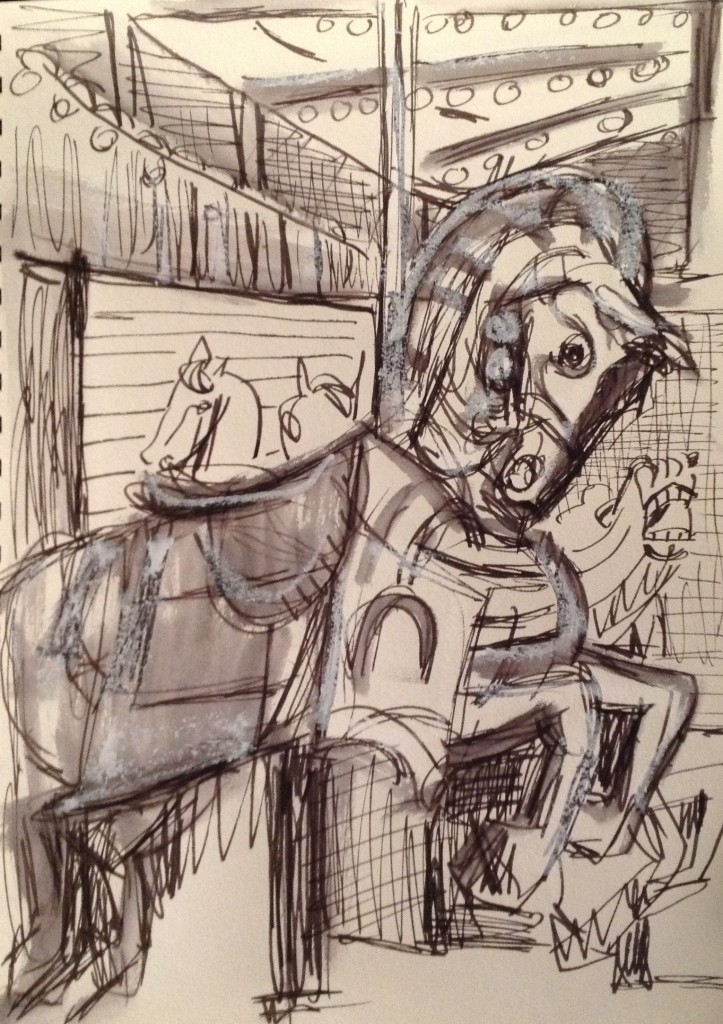 <b>Coney Island Carousel</b>