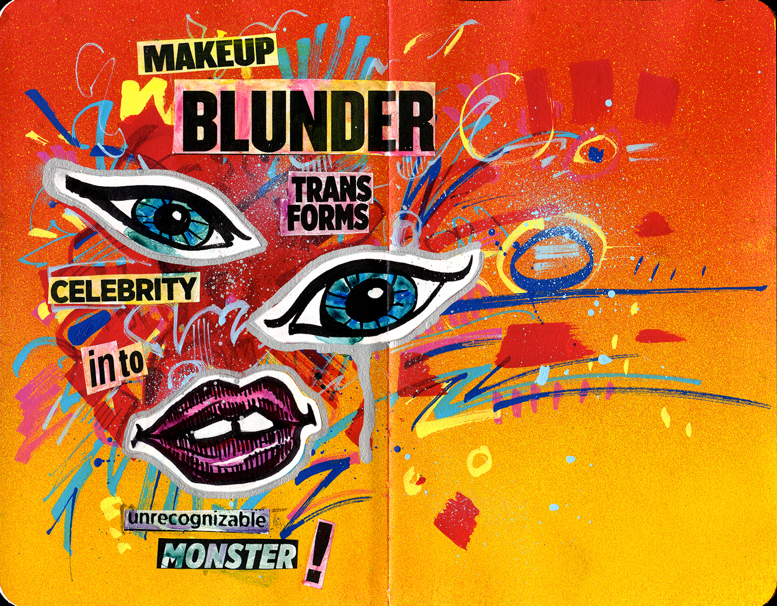 <b>Makeup Blunder</b>