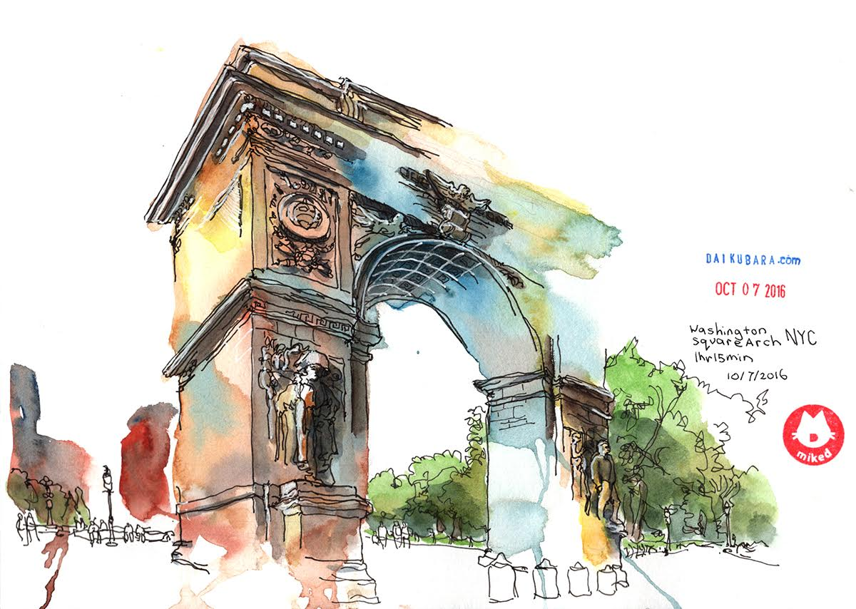 <b>Washington Square Arch</b>