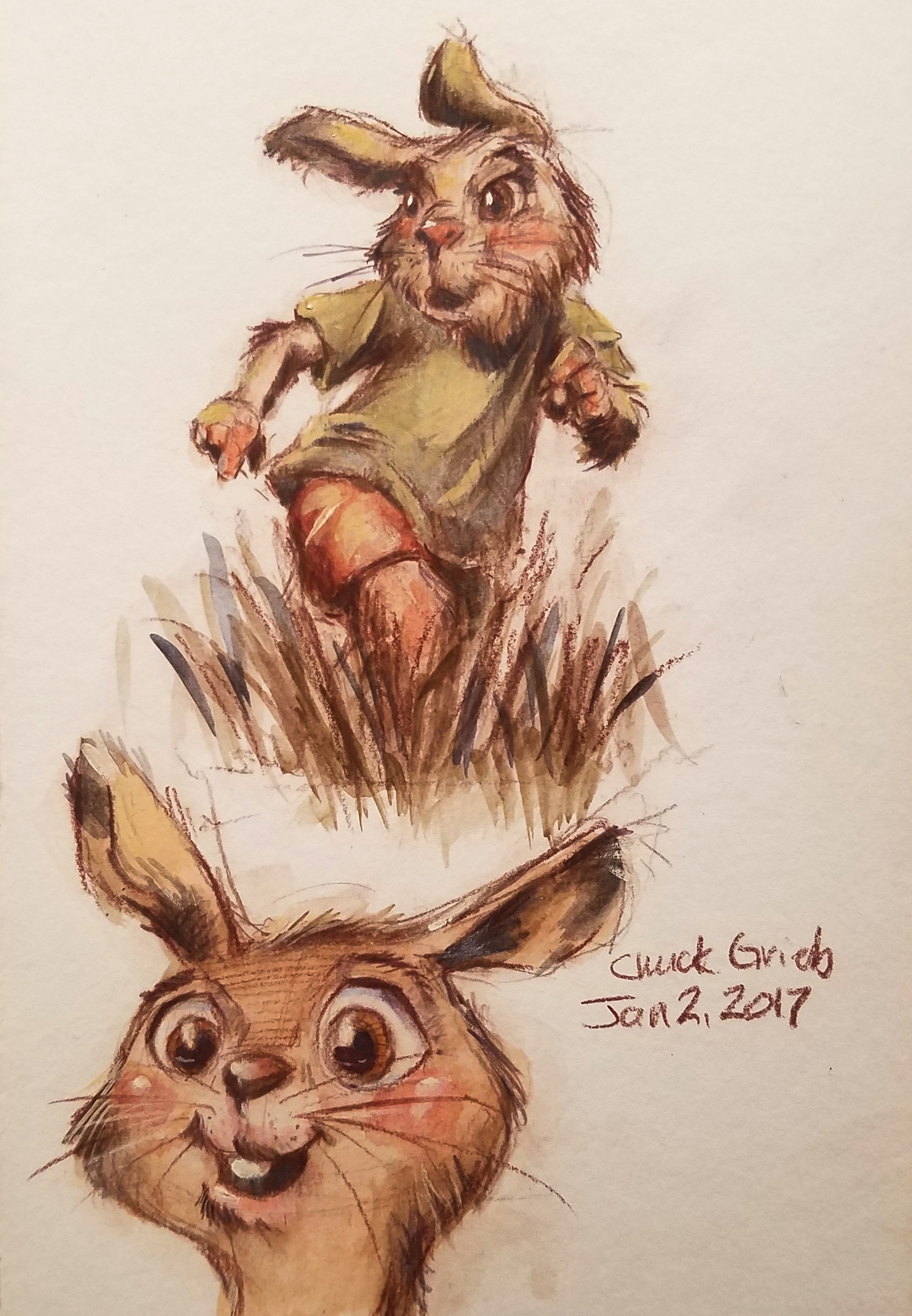<b>Rabbit Children from the  Garden Clan</b>
