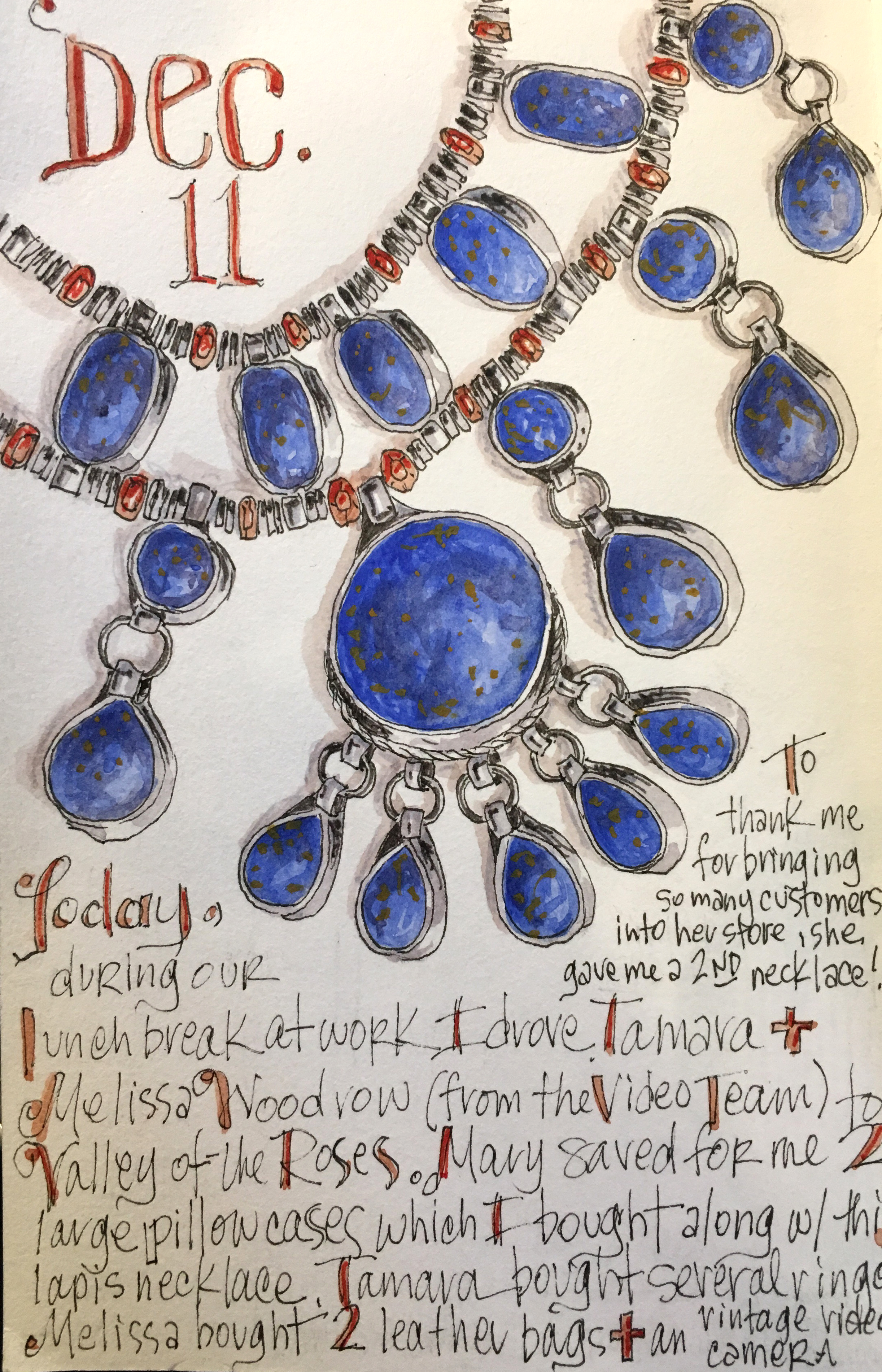 <b>Lapis Necklace</b>