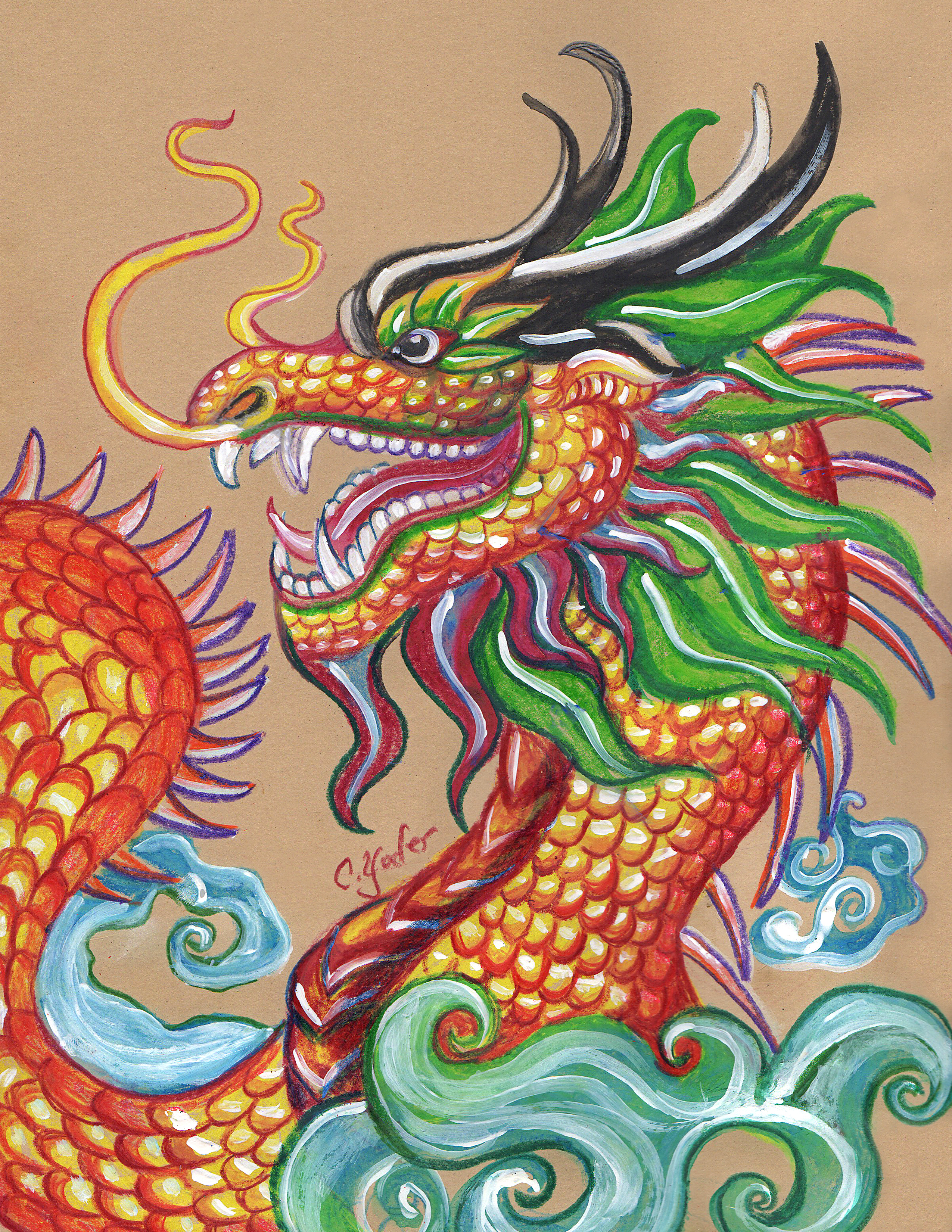 <b>Chinese Dragon</b>