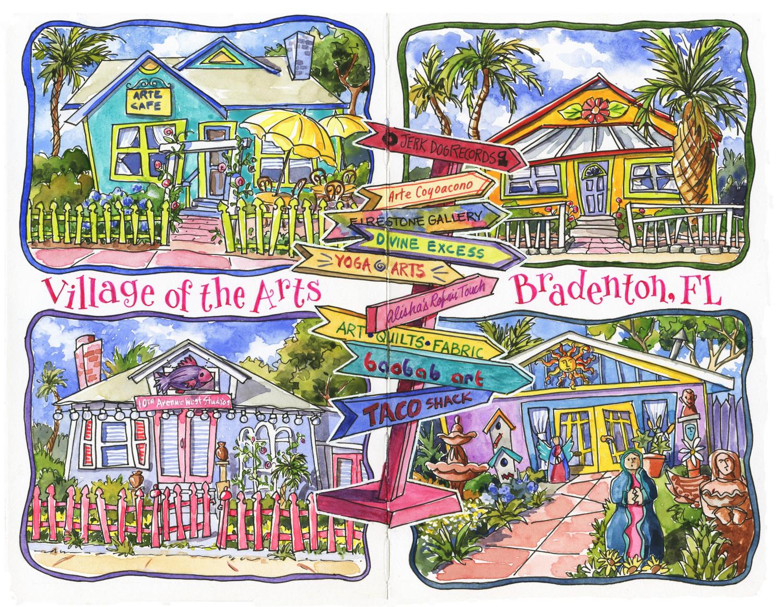 <b>Village of the Arts</b>