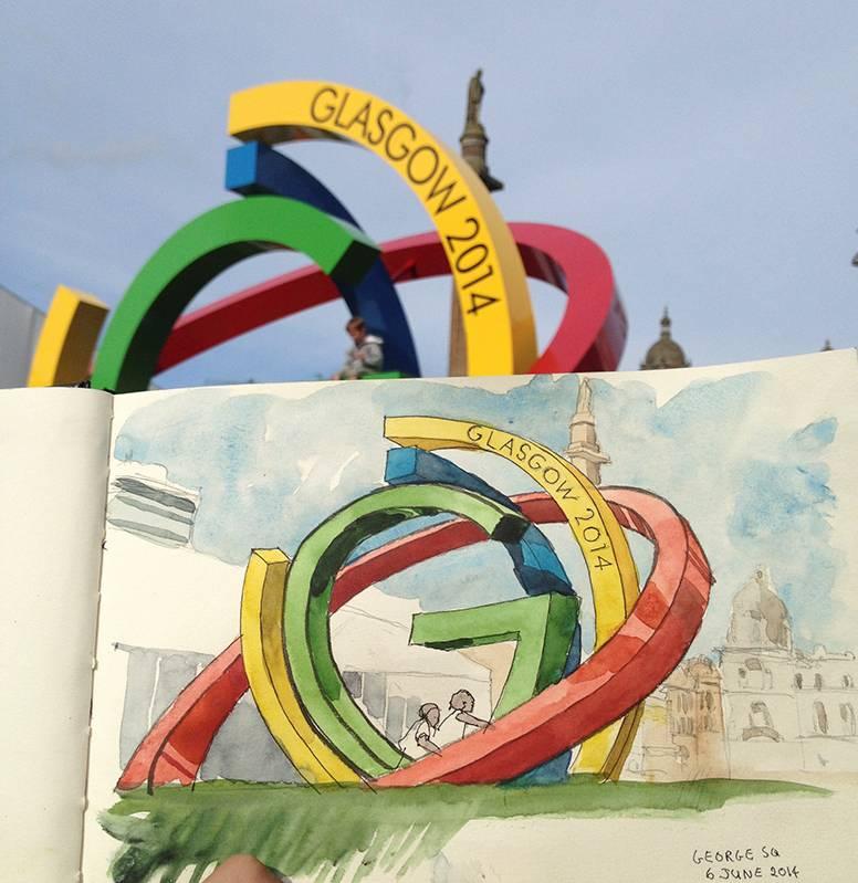 <b>Commonwealth Games Sculpture</b>