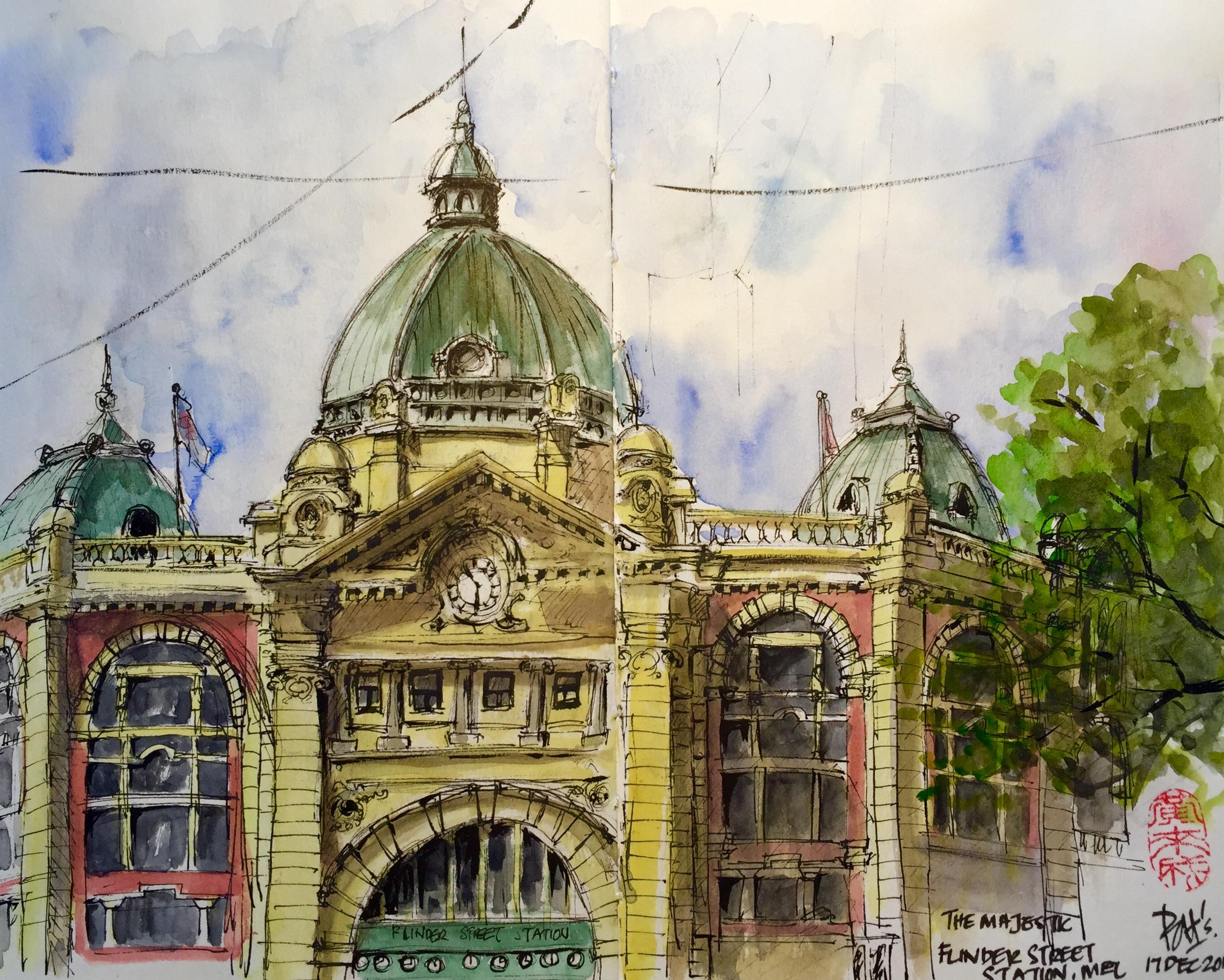 <b>Flinders Street Station, Melbourne</b>
