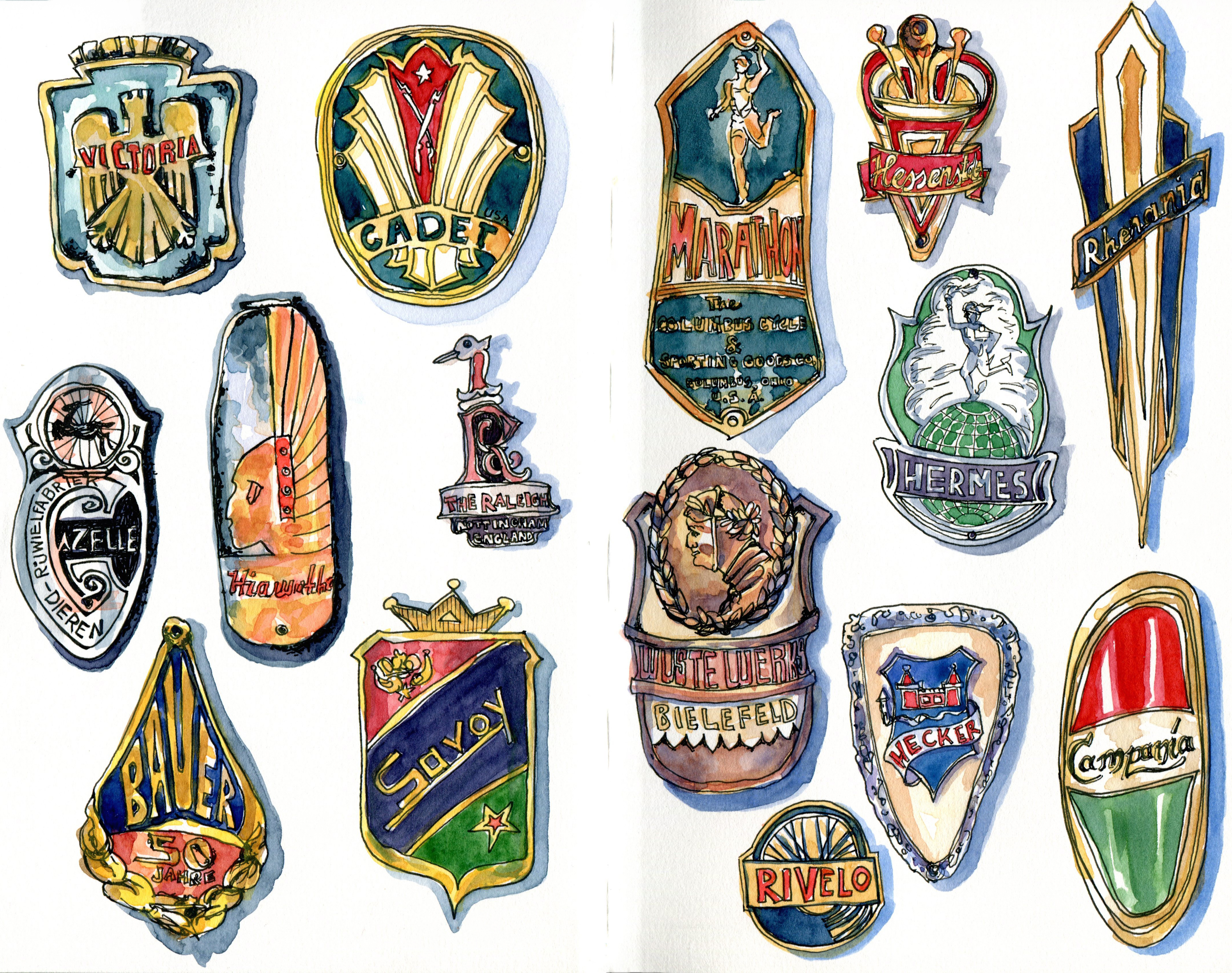 <b>Head Badges</b>