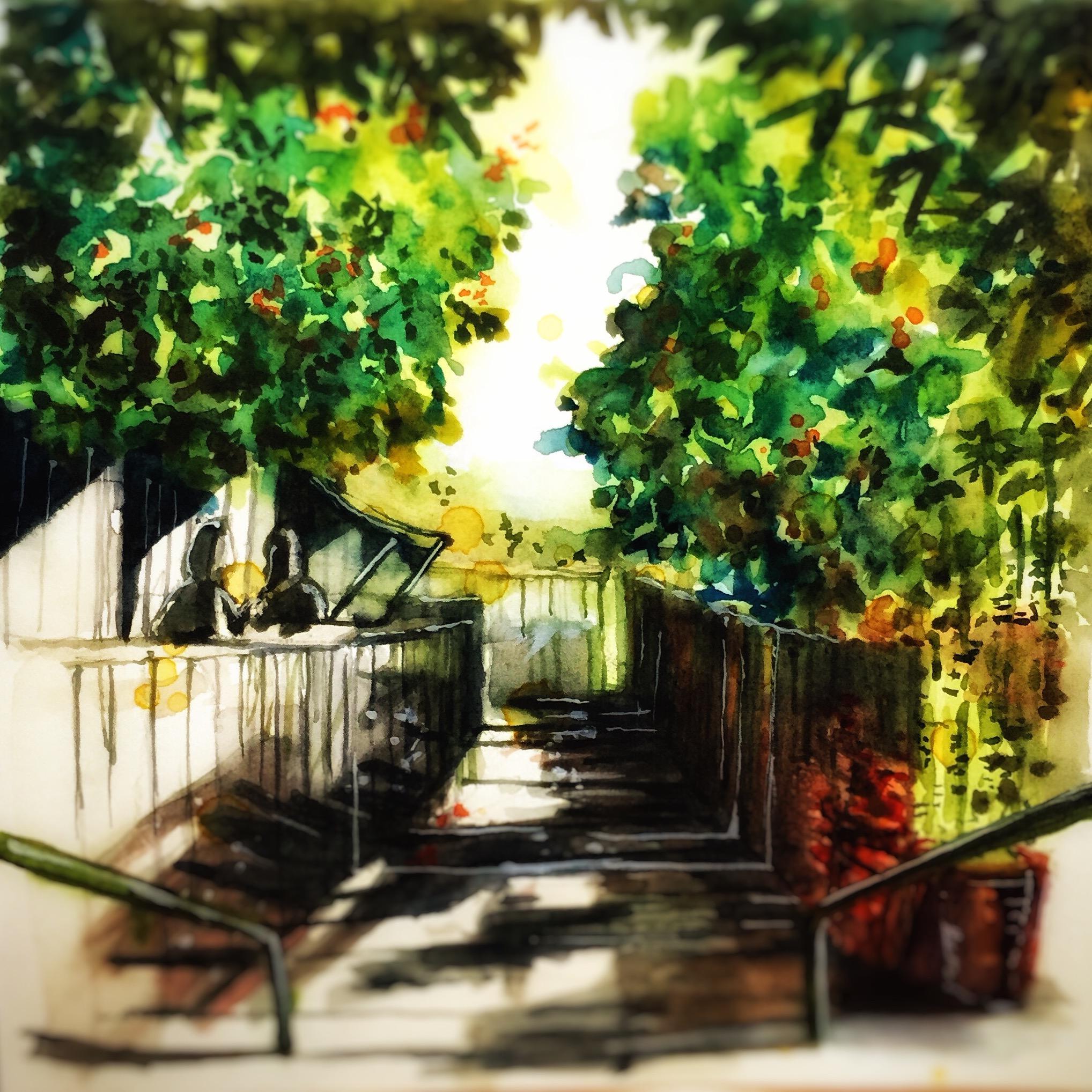 <b>Back Alley at Jalan Bahagia</b>