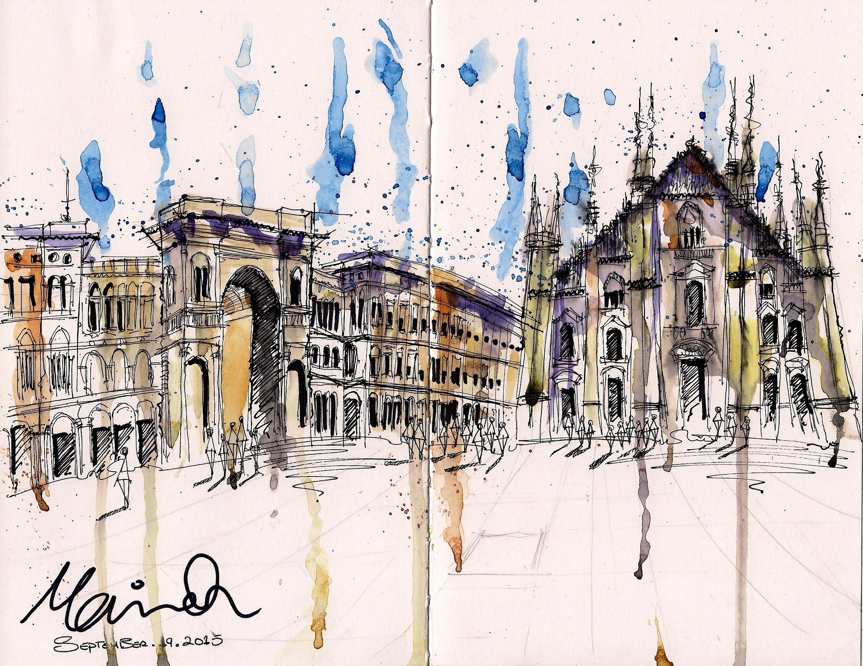 <b>Piazza del Duomo, Milan</b>