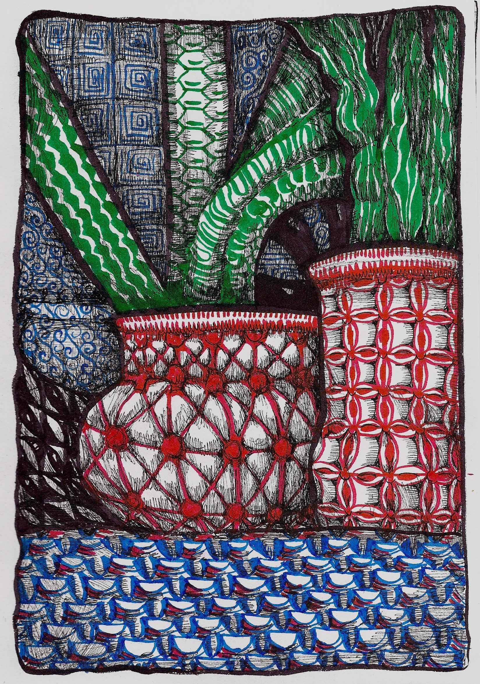 <b>Potted Cacti</b>
