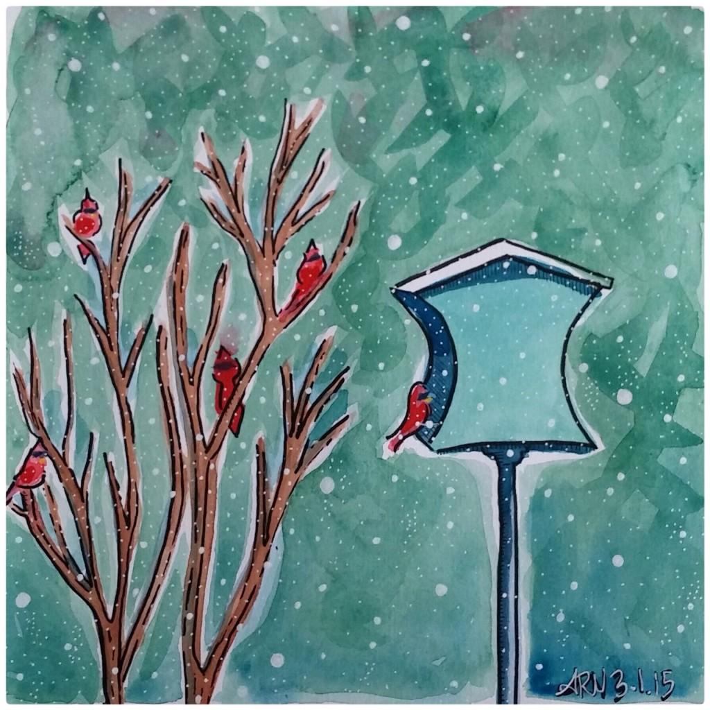 <b>Winter Cardinals</b>
