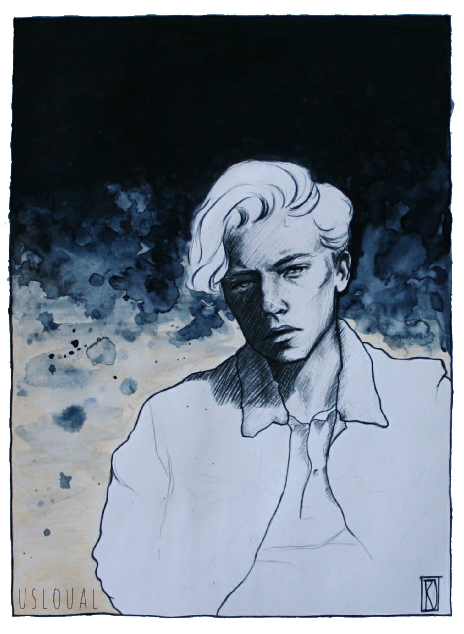 <b>Portrait of Cole Sprouse</b>