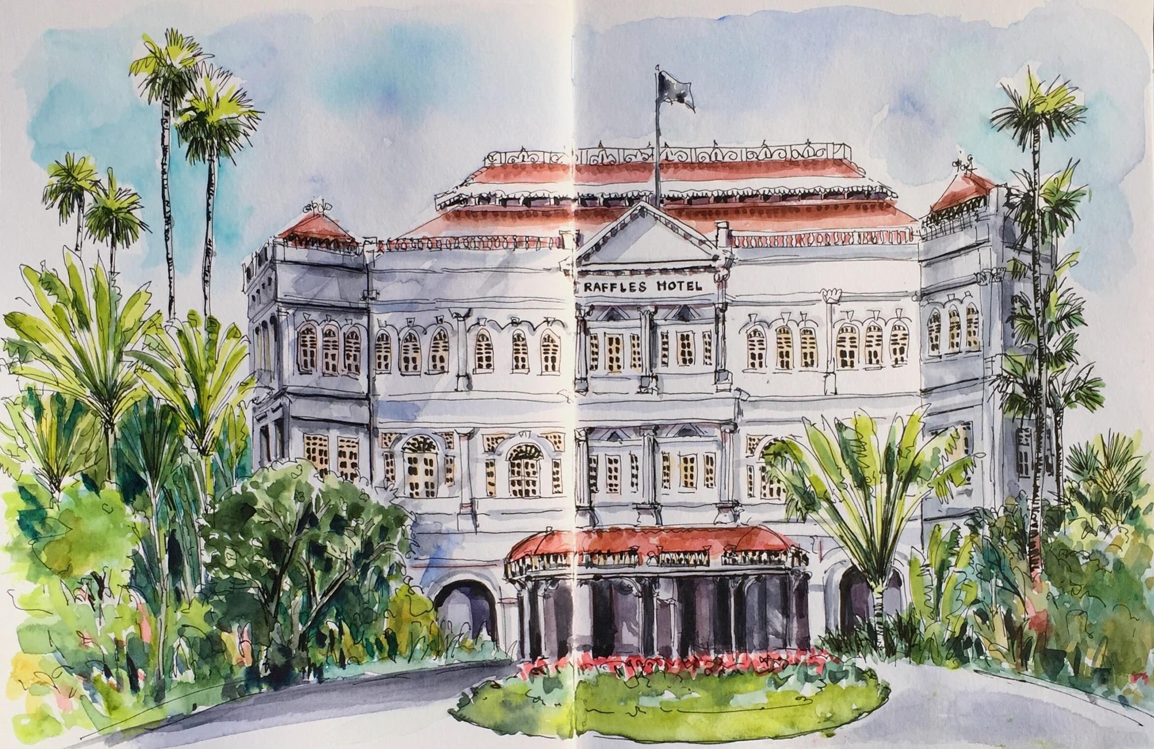 <b>Raffles Hotel, Singapore</b>