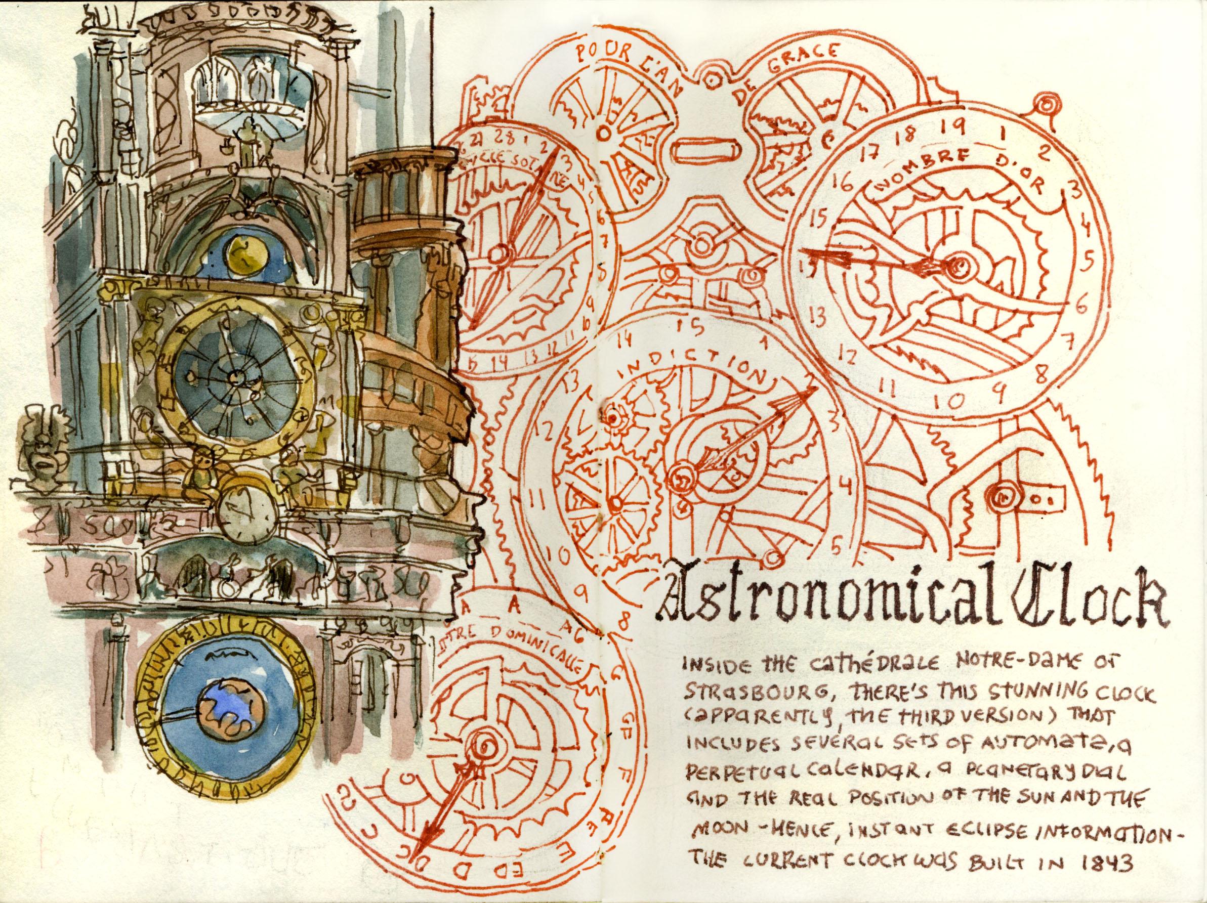 <b>The Strasbourg Astronomical Clock</b>