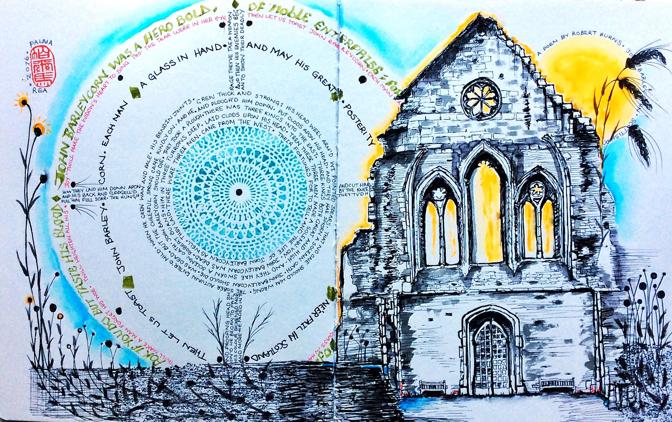 <b>The Old Church Ruins</b>