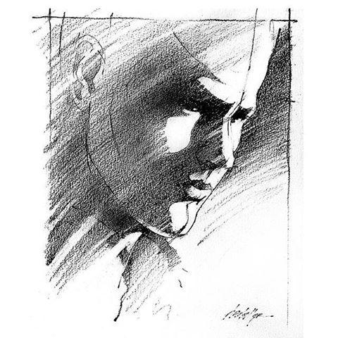 <b>Portrait in Three Values</b>