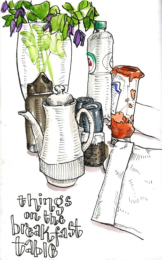 <b>Things on the Breakfast Table</b>