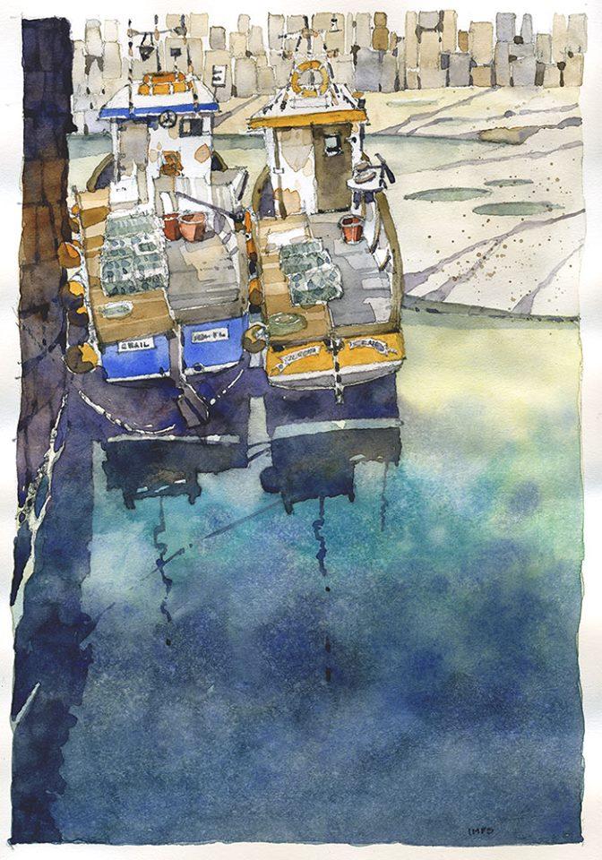 <b>Lobstermen Reflections</b>