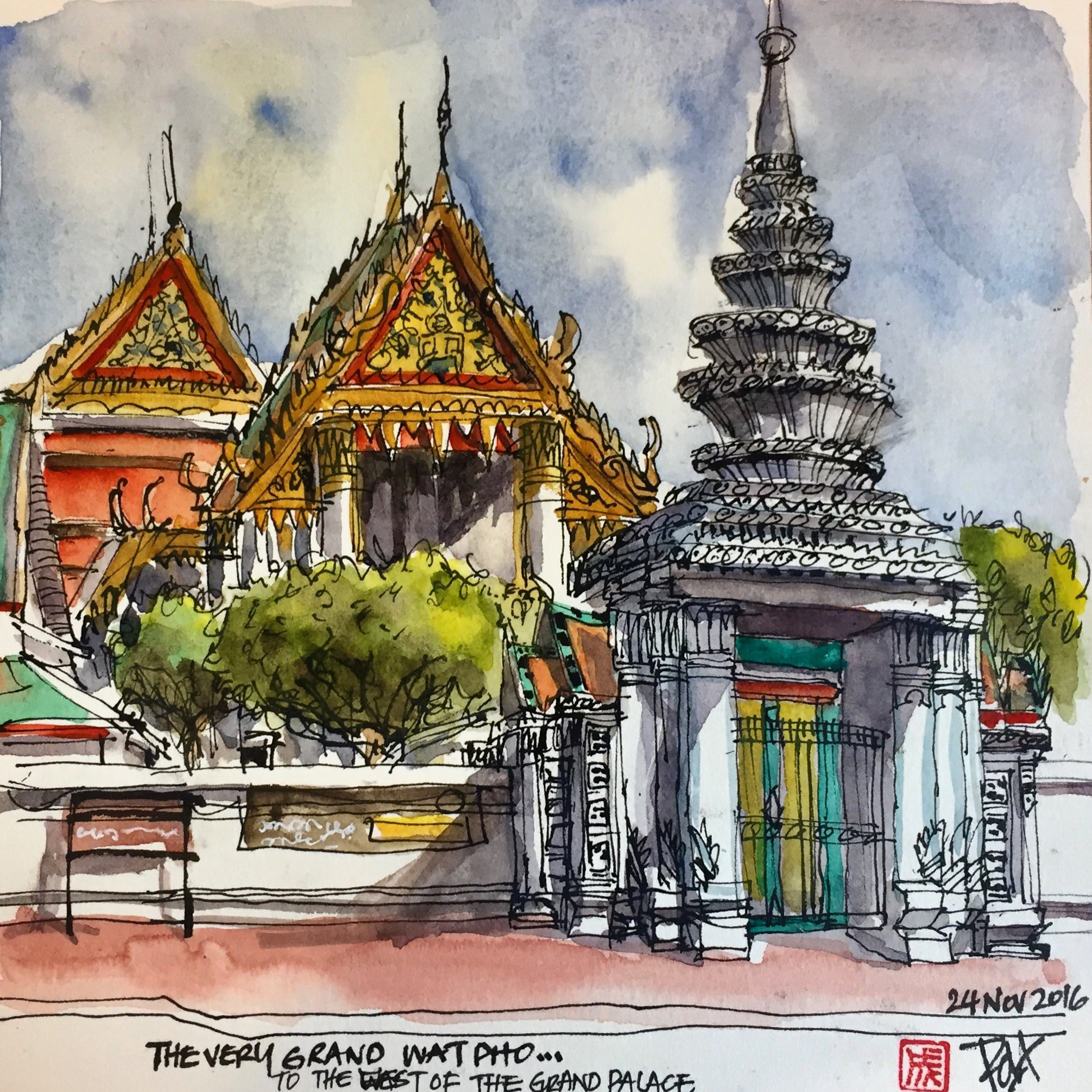 <b>Wat Po Temple</b>