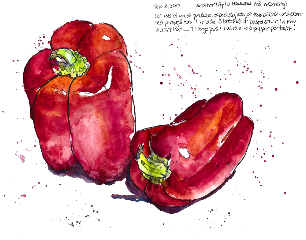 <b>Two Red Peppers</b>