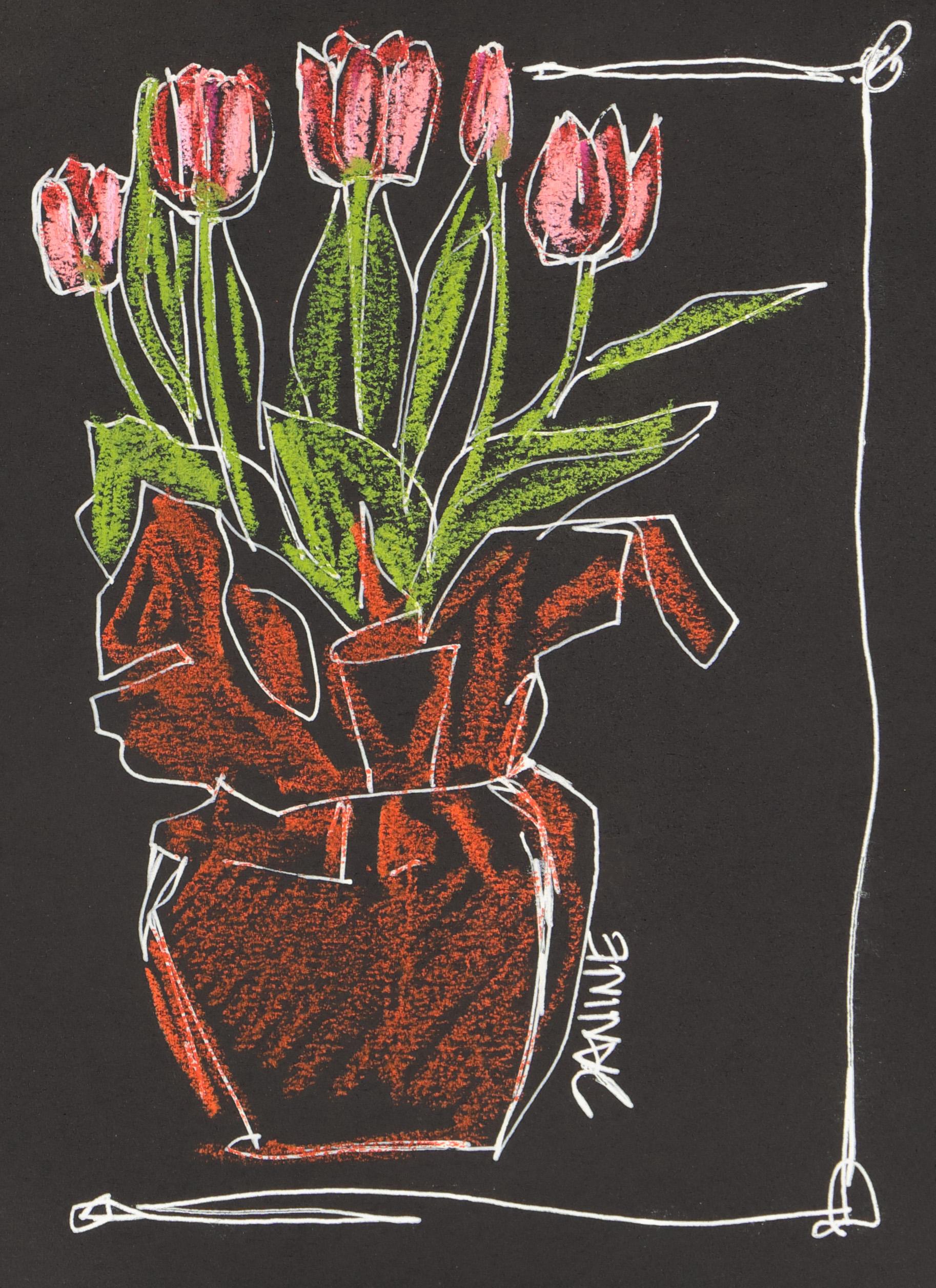 <b>Pink Tulips</b>